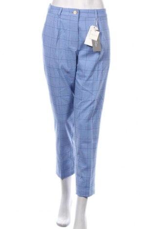 Дамски панталон Tom Tailor, Размер M, Цвят Син, 63% полиестер, 34% вискоза, 3% еластан, Цена 89,25лв.