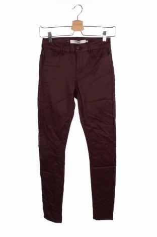 Γυναικείο παντελόνι Vero Moda, Μέγεθος XS, Χρώμα Κόκκινο, 77% βισκόζη, 20% πολυαμίδη, 3% ελαστάνη, Τιμή 16,89€