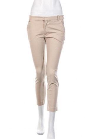Γυναικείο παντελόνι Zara, Μέγεθος S, Χρώμα  Μπέζ, 97% βαμβάκι, 3% ελαστάνη, Τιμή 14,48€