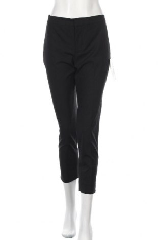 Pantaloni de femei Zara, Mărime M, Culoare Negru, 63% poliester, 33% viscoză, 4% elastan, Preț 162,47 Lei