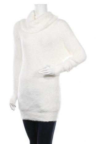 Дамски пуловер, Размер S, Цвят Бял, Цена 33,60лв.