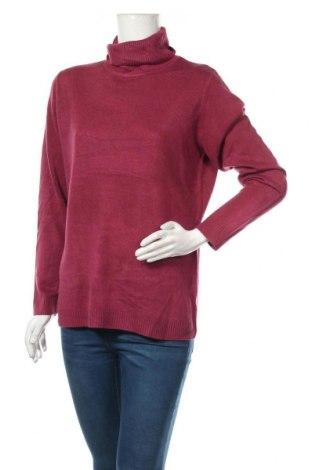 Дамски пуловер Adagio, Размер L, Цвят Лилав, Цена 27,30лв.