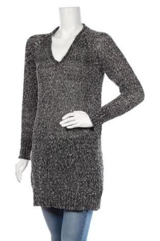 Дамски пуловер Ahlens, Размер M, Цвят Черен, 82% памук, 18% полиестер, Цена 26,25лв.