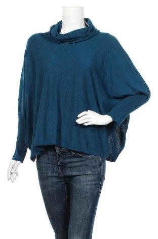 Дамски пуловер Alfani, Размер XS, Цвят Син, 56% памук, 44% вискоза, Цена 29,40лв.