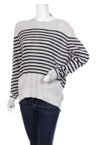 Дамски пуловер AllSaints, Размер M, Цвят Сив, Памук, Цена 42,00лв.