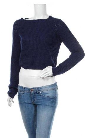 Дамски пуловер Ambiance, Размер M, Цвят Син, Акрил, Цена 20,95лв.
