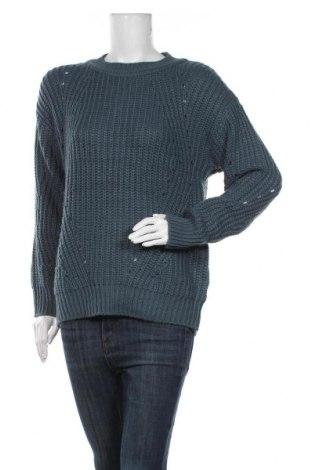 Дамски пуловер Aniston, Размер M, Цвят Зелен, Акрил, Цена 27,30лв.
