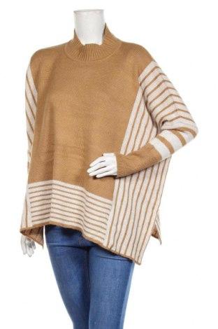 Дамски пуловер Annabelle, Размер M, Цвят Кафяв, 85% полиестер, 15% памук, Цена 19,11лв.