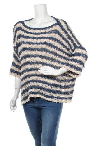 Дамски пуловер Anouk, Размер L, Цвят Син, 62% акрил, 38% полиамид, Цена 22,05лв.
