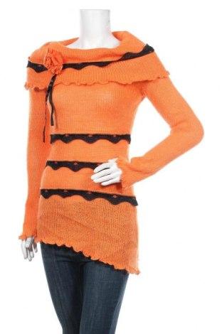 Дамски пуловер Apart, Размер M, Цвят Оранжев, Цена 30,03лв.
