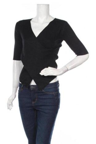 Дамски пуловер Apricot, Размер S, Цвят Черен, 70% вискоза, 30% полиестер, Цена 30,45лв.