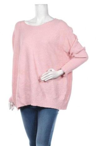 Дамски пуловер Autograph, Размер L, Цвят Розов, 50% вискоза, 25% полиестер, 25% полиамид, Цена 26,25лв.