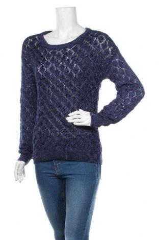 Damski sweter Clockhouse, Rozmiar M, Kolor Niebieski, 51%akryl, 49% bawełna, Cena 72,00zł