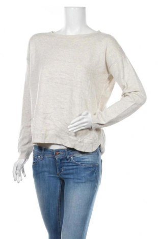 Damski sweter H&M, Rozmiar S, Kolor Beżowy, 65%akryl, 20% poliamid, 15% wełna, Cena 78,00zł