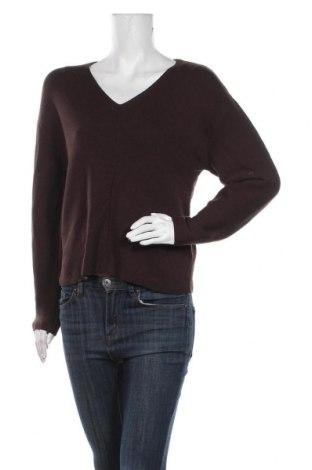 Damski sweter H&M, Rozmiar XS, Kolor Brązowy, 60% poliester, 35% poliamid, 5% wełna, Cena 66,00zł