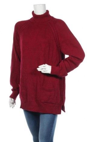 Дамски пуловер Jeanne Pierre, Размер XL, Цвят Лилав, Памук, Цена 28,35лв.