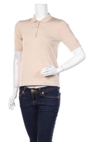Дамски пуловер Massimo Dutti, Размер S, Цвят Бежов, 58% вискоза, 40% полиамид, 2% еластан, Цена 31,50лв.