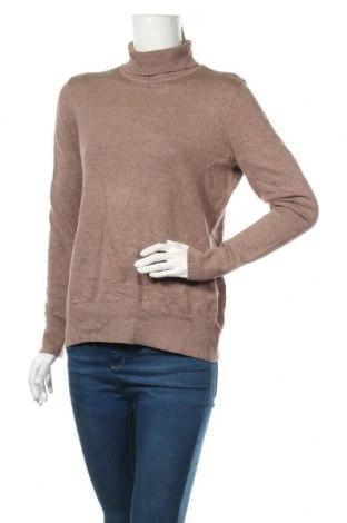 Дамски пуловер Montego, Размер L, Цвят Кафяв, 41% памук, 30% вискоза, 29% полиамид, Цена 30,45лв.