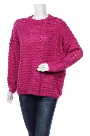 Pulover de femei ONLY, Mărime M, Culoare Roz, 75%acril, 25% poliamidă, Preț 92,84 Lei