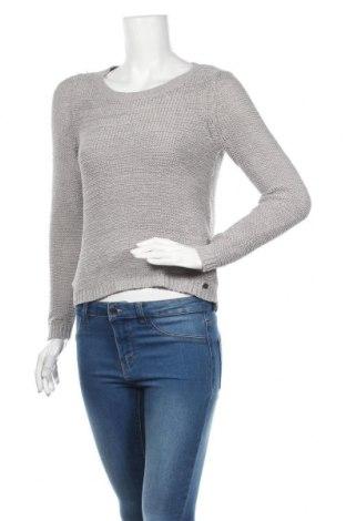 Damski sweter ONLY, Rozmiar S, Kolor Szary, 65%akryl, 35% poliamid, Cena 72,00zł