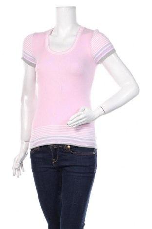 Дамски пуловер United Colors Of Benetton, Размер M, Цвят Розов, Памук, Цена 23,25лв.