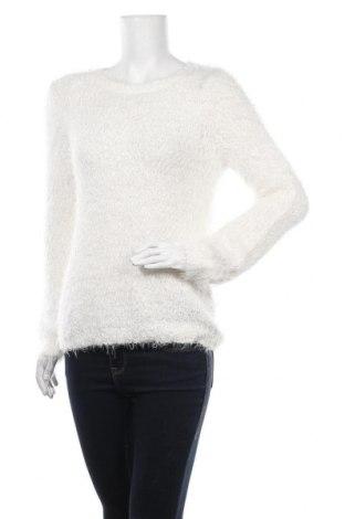 Damski sweter Up Front, Rozmiar M, Kolor Biały, 60% poliester, 40% poliamid, Cena 78,00zł
