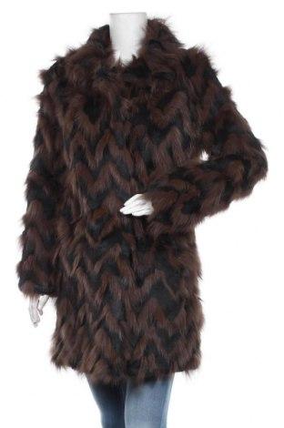 Damski skórzany płaszcz Antik Batik, Rozmiar L, Kolor Czarny, Włosie naturalne, Cena 3323,25zł