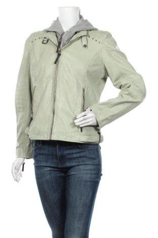 Dámská kožená bunda  Alpenblitz, Velikost L, Barva Zelená, Pravá kůže, polyester, Cena  2834,00Kč