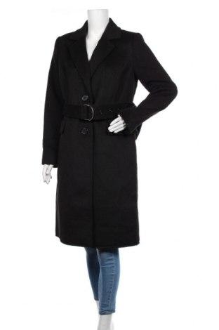 Дамско палто Ajc, Размер M, Цвят Черен, 92% полиестер, 8% вискоза, Цена 96,85лв.