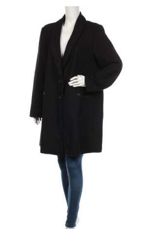 Дамско палто Aniston, Размер XXL, Цвят Черен, 60% вълна, 40% полиестер, Цена 116,35лв.