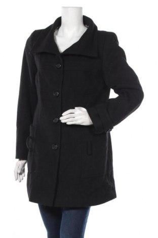 Дамско палто Apart, Размер M, Цвят Черен, 70% вълна, 30% полиестер, Цена 128,68лв.