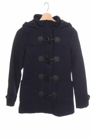 Damski płaszcz ONLY, Rozmiar XS, Kolor Niebieski, 70% poliester, 30% wełna, Cena 212,32zł