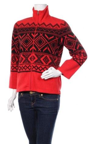 Bluză polară de damă Ralph Lauren, Mărime M, Culoare Roșu, Poliester, Preț 120,89 Lei