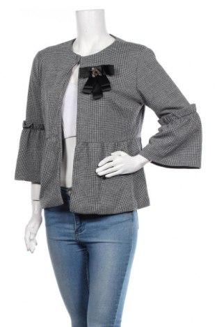 Дамско сако Almatrichi, Размер XL, Цвят Сив, 77% полиестер, 23% памук, Цена 181,30лв.