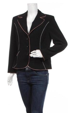 Дамско сако Apriori, Размер M, Цвят Черен, 89% полиестер, 11% еластан, Цена 19,11лв.