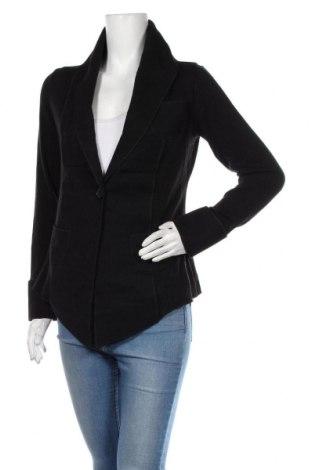 Дамско сако Aura, Размер M, Цвят Черен, 70% полиестер, 20% вискоза, 10% памук, Цена 29,40лв.