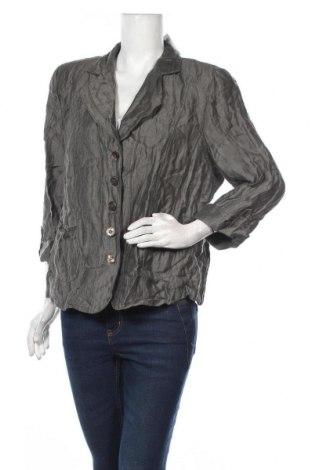 Дамско сако Gelco, Размер XL, Цвят Зелен, 86% лен, 14% полиамид, Цена 19,32лв.