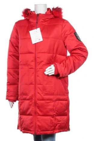 Дамско яке Ajc, Размер M, Цвят Червен, Полиестер, Цена 96,85лв.