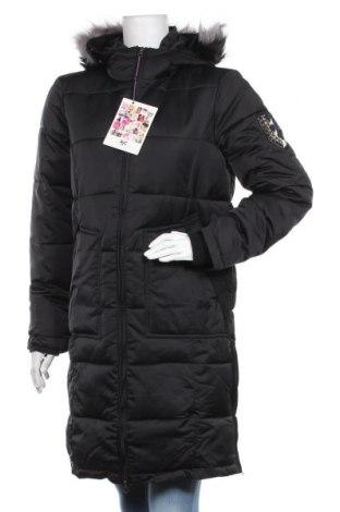 Дамско яке Ajc, Размер S, Цвят Черен, Полиестер, Цена 96,85лв.