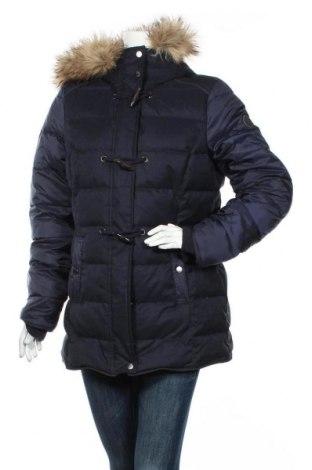 Γυναικείο μπουφάν S.Oliver, Μέγεθος L, Χρώμα Μπλέ, Πολυεστέρας,ακρυλικό, φτερά και πούπουλα, Τιμή 67,68€
