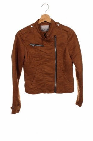 Γυναικείο μπουφάν Vero Moda, Μέγεθος XS, Χρώμα  Μπέζ, Πολυεστέρας, Τιμή 20,78€