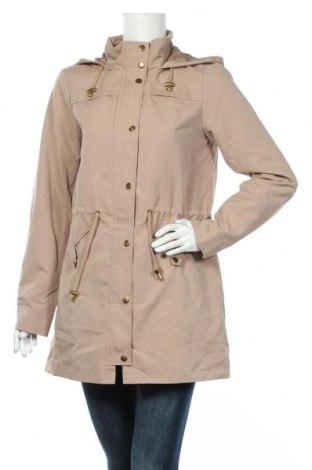 Γυναικείο μπουφάν Vero Moda, Μέγεθος M, Χρώμα  Μπέζ, 100% πολυεστέρας, Τιμή 25,33€