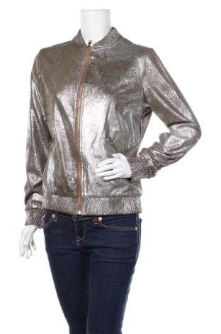 Дамско яке Zara, Размер S, Цвят Зелен, 90% полиестер, 10% еластан, Цена 59,25лв.