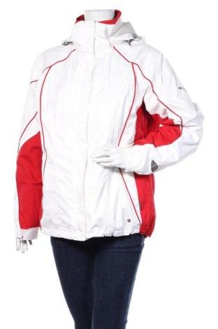 Дамско яке за зимни спортове Columbia, Размер L, Цвят Бял, Полиамид, Цена 111,00лв.