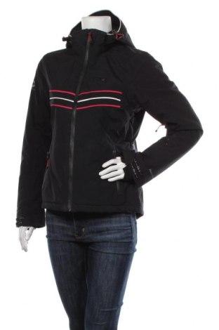 Дамско яке за зимни спортове DLX by Trespass, Размер S, Цвят Черен, Полиестер, Цена 121,50лв.