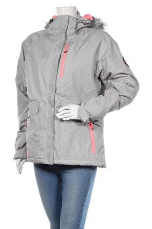 Дамско яке за зимни спортове DLX by Trespass, Размер XL, Цвят Сив, Полиестер, Цена 114,00лв.