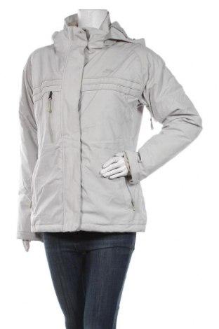 Дамско яке за зимни спортове Trespass, Размер M, Цвят Сив, 94% полиестер, 6% еластан, Цена 126,75лв.