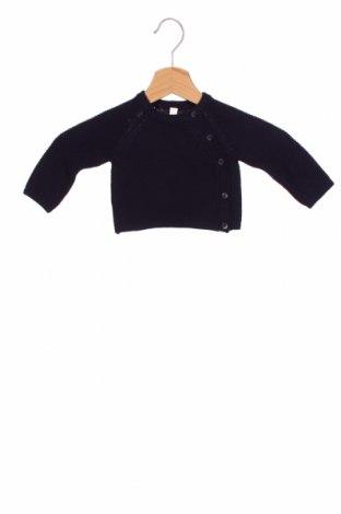 Pulover cu nasturi pentru copii, Mărime 1-2m/ 50-56 cm, Culoare Albastru, Preț 96,22 Lei