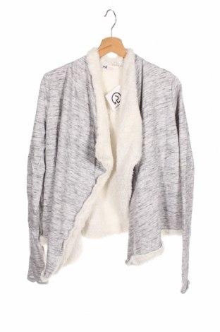 Pulover cu nasturi pentru copii H&M, Mărime 15-18y/ 170-176 cm, Culoare Gri, 60% bumbac, 40% poliester, Preț 59,68 Lei