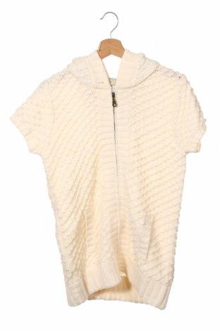 Pulover cu nasturi pentru copii Here+There, Mărime 15-18y/ 170-176 cm, Culoare Alb, Acrilic, Preț 15,75 Lei